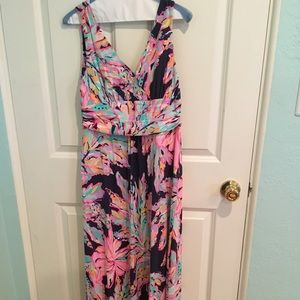 Lilly Pulitzer maxi-dress